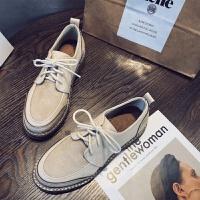 2018秋季新款英伦风女鞋复古小皮鞋女学生时尚百搭平底低跟单鞋女