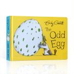 奇怪的蛋 英文原版 The Odd Egg 撕不烂纸板书 我的宝贝蛋 低幼儿童英语启蒙早教图画故事书翻翻书睡前晚安故事