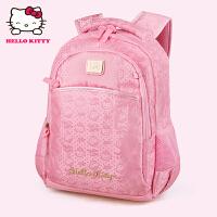 HelloKitty凯蒂猫 KT1093韩版可爱女小学生护脊减负书包 粉红