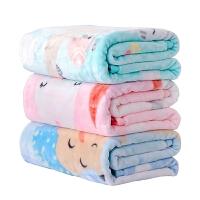 抱毯盖毯冬季毯子吧婴儿毛毯宝宝双层厚儿童毛毯