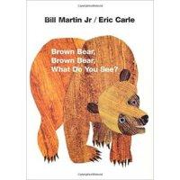 [现货]英文原版 Brown Bear 棕熊棕熊 你看见了啥 韵律绘本 纪念版