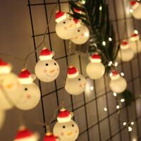 圣诞节彩灯 圣诞树雪人led装饰灯节日场景布置创意装饰闪灯串店铺背景墙橱窗彩灯