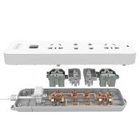 �W普照明插排多功能usb�源插座排插�板插�^�D�Q器拖�接�板