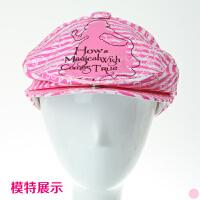宝宝儿童公主贝雷帽 女童帽小孩遮阳帽子