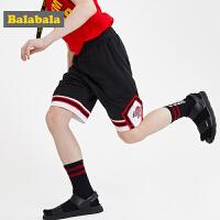 【7折价:62.93】巴拉巴拉儿童短裤男新款夏装男童裤子中大童宽松运动五分裤潮