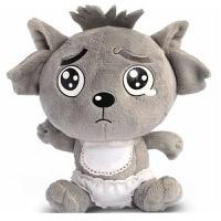 喜气羊羊毛绒玩具美丽懒小羊懒��儿童礼品女生友生日礼物品大灰狼