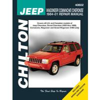 【预订】Jeep Wagoneer/Comanche/Cherokee 1984-01 Repair Manual