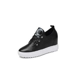 红蜻蜓旗下品牌COOLALA女鞋秋冬休闲鞋板鞋女鞋子HNB6731