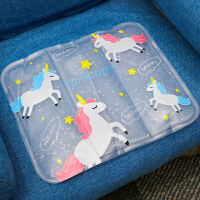 冰垫夏季坐垫汽车冰凉水袋夏天免注水冰晶降温教室学生车用座垫子