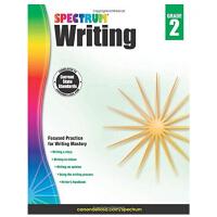 【现货】英文原版 光谱写作 2年级 Spectrum Writing, Grade 2