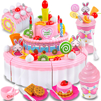 儿童切蛋糕玩具女孩切乐女童3-5-7-9岁套装冰淇淋车6-8生日礼物