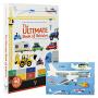 The Ultimate Book Of Vehicles: From around the world 汽车立体书交通工具机关操作书 汽车翻翻书 早教益智书 英文原版进口
