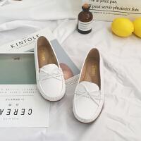秋冬季女护士鞋2018加绒软底韩版平底白色坡跟冬天棉鞋小白鞋 白色 偏大半码
