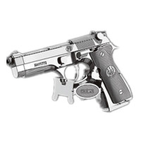 3D金属拼图械模型AK47冲锋巴雷特步