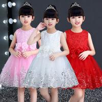小学生幼儿表演服装儿童节演出服女童公主裙蓬蓬纱裙舞蹈礼服