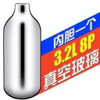 不锈钢双层保温保冷热水瓶家用热水壶暖水壶暖水瓶开水瓶玻璃内胆 单只 玻璃真空内胆