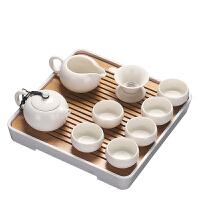 仙悦 日式功夫茶具套装简约现代茶台储水竹制茶海干泡盘家用