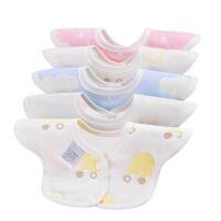 口水巾围兜婴儿围脖0-6-24个月防水防溢奶可旋转小围嘴