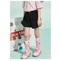 【抢购价:49.1元】巴布豆童装女童夏季花苞短裤