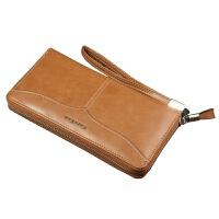 男士钱包商务休闲大容量手拿包