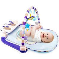 音乐幼儿0-1岁音乐毯婴儿健身架脚踏钢琴新生儿5个月宝宝益智玩具