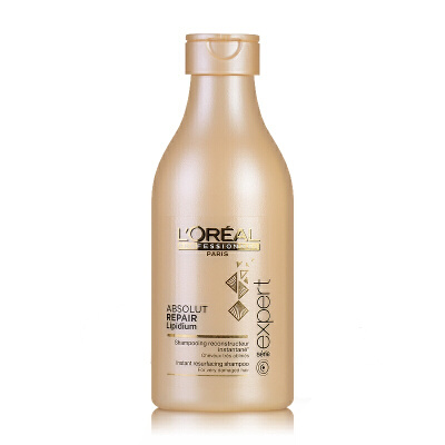 L'OREAL欧莱雅 致臻赋活洗发水250ml 进口专业洗护 染烫受损发质 修护干枯毛躁 控油去屑 正品行货 支持礼品卡