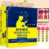 正版语文阅读得高分策略与技巧 初中卷+初中语文阅读提分技巧 创意公式法 共2册 语文阅读题型知识点讲解书 初中语文阅读