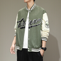 MPF 拼色棒球服外套男秋季新款韩版潮流宽松百搭夹克休闲运动上衣