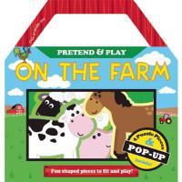 [现货]英文原版On the Farm在农场上 场景置入系列立体书幼儿启蒙