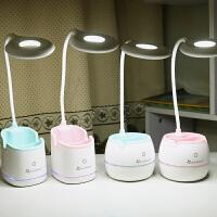 折叠护眼台灯可充电式小台灯大学生宿舍书桌学习儿童写字