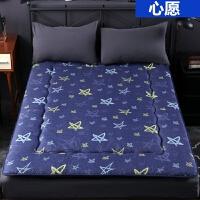 榻榻米海绵床垫1.5米1.8m学生宿舍棉絮垫被1.2可折叠地铺睡垫j