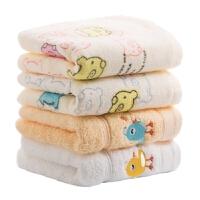 宝宝毛巾柔软小方巾儿童毛巾棉洗脸家用棉小毛巾竹纤维小方巾