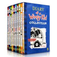 [现货]英文原版 Diary of A Wimpy Kid 1-9 + 1本日记本