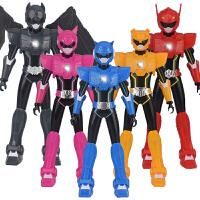 【跨店每满100-50】迷你特工队S1声光机器人偶新款雷 弗特露西塞米战警麦克斯X玩具