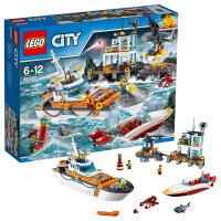 [当当自营]LEGO 乐高 City城市系列 海岸警卫队总部 积木拼插儿童益智玩具60167