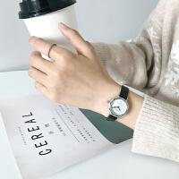 皮带小表盘手表女中学生韩版简约小巧手细带气质精致时尚潮流防水