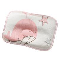 新生婴儿枕头0-1-3岁宝宝定型枕夏季冰丝透气吸汗夏天凉爽