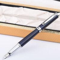 毕加索 PS-951铱金钢笔 湖蓝银夹 笔杆 笔尖0.5mm 泰勒士系列 成人商务办公用学生练字书法墨水笔 礼盒装 当