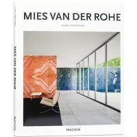 MIES VAN DER ROHE 建筑大师 密斯凡德罗作品选 建筑设计书籍