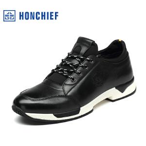红蜻蜓旗下品牌HONCHIEF 男鞋休闲鞋秋冬鞋子男板鞋KTA1216