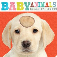 【预订】Touch and Feel Baby Animals