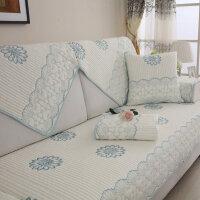 沙发垫现代简约欧式夏季四季布艺坐垫通用客厅沙发靠背巾套罩全盖定制