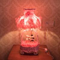 红色喜灯结婚台灯婚房床头柜长明灯卧室婚庆礼物浪漫创意