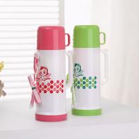 户外保温壶暖水壶提绳保温瓶小热水瓶儿童旅游壶运动配背带便携式