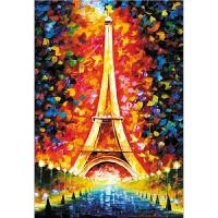 埃菲尔铁塔 情定艾菲尔1000片木质拼图1500益智玩具浪漫爱情