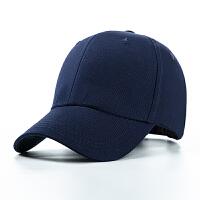棒球帽春夏光板 男士鸭舌帽基本款旅游帽女士太阳帽遮阳透气钓鱼