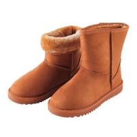 雪地靴女短筒韩版百搭学生加厚2018冬季新品加绒保暖滑短靴
