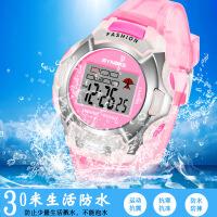 运动男孩女孩款式学生手表儿童手表夜光防水 绿色