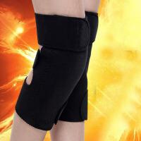 护膝保暖关节炎秋季自发热中老年人风湿老寒腿防寒保暖护膝盖男女通用 均码 一副两只