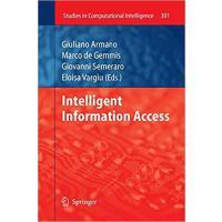 【预订】Intelligent Information Access 9783642263873